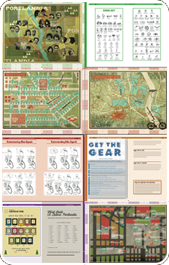 Preview pages from the travel guide.