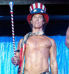 Matthew McConaughey - Magic Mike